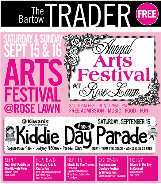 Rose Lawn Arts Festival –  A Free Family Arts & Crafts Festival Now In It's 44th Year